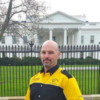 David at the White House
